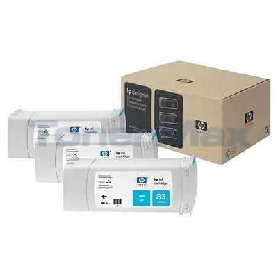 HP NO 83 UV INK CARTRIDGE CYAN